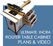Free plan ultimate incra router table cabinets plans videos keyboard keysfo Images